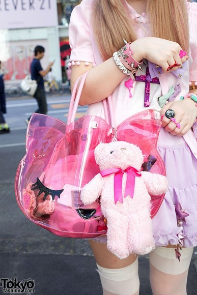 bag pink bag cat bag clear bag transparent pink bag transparent pink transparent  bag
