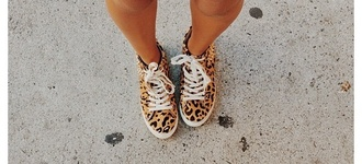 shoes print brown tan leopard print cute zara tumblr