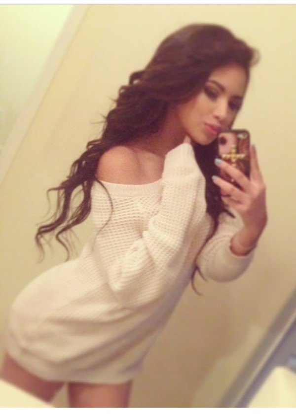 top sweater Jasmine V jasmine villegas dress white sweater dress