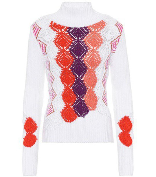 Peter Pilotto sweater cotton white