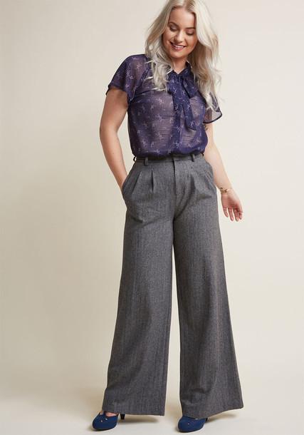 Modcloth neutral pants
