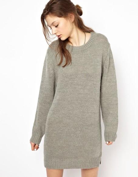 jumper warm grey