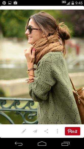 sweater olive green oversized sweater cozy sweater cozy warm cute sweaters
