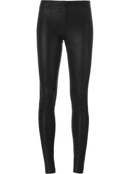 Sylvie Schimmel leggings women spandex cotton black pants