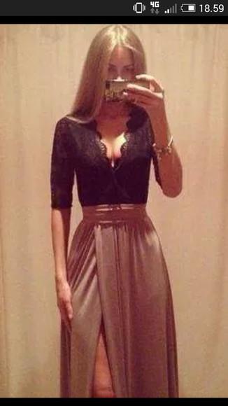 brown dress little black dress dress vintage dress gorgeous sexy dress