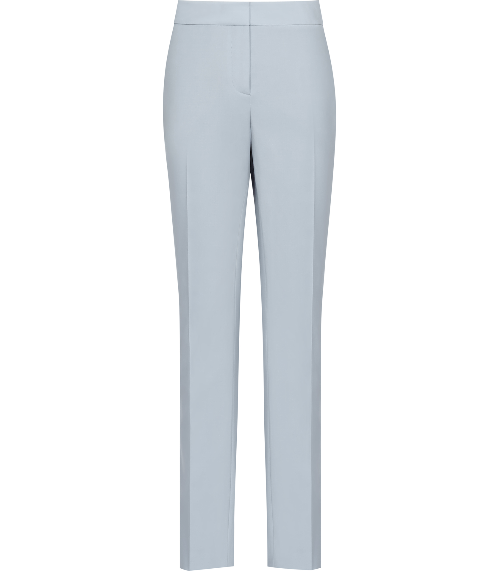 Marx Ice Blue Tailored Trousers - REISS