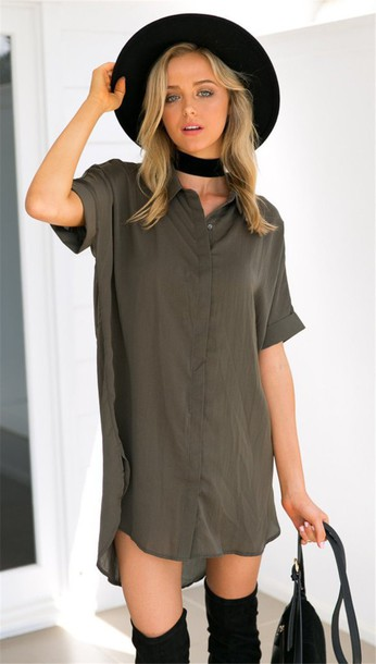 olive shirt outfits