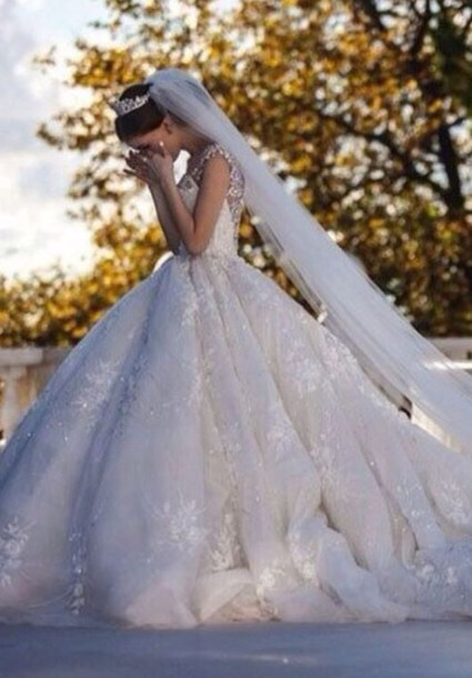 dress, wedding dress, wedding clothes, wedding, white dress, bride ...