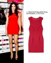 adriana lima,pretty,beautiful red dress,red,red dress,boatneck,victoria's secret model,model,halston heritage