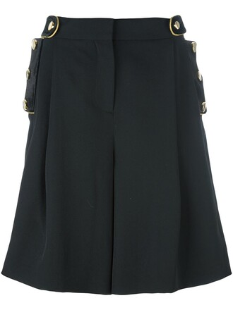 shorts style military style black