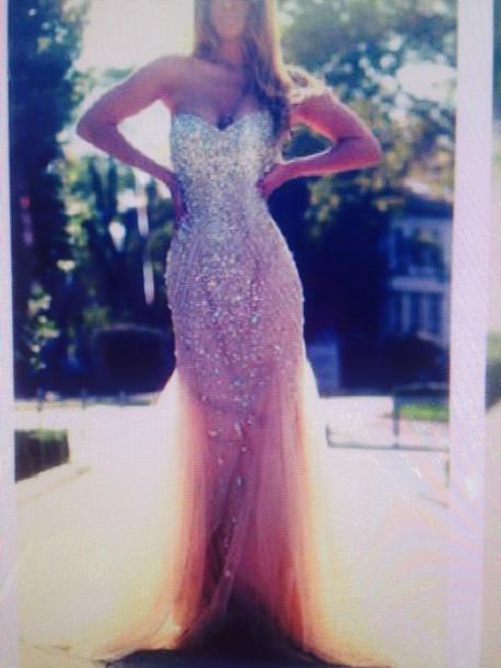 dress creme gold