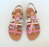 shoes,sandals,boho chic,boho,flip-flops,bohemian,wedding shoes