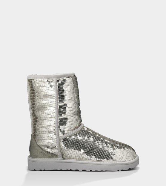 UGG® Classic Short Sparkles | Sequin Boots at UGGAustralia.com