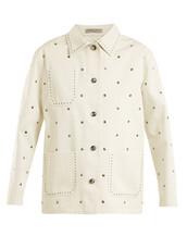 jacket,cotton,white