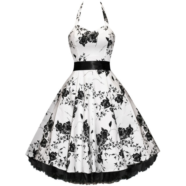 Wholesale Vintage Halterneck Floral Print Sleeveless Pleated Cute Country Western Dresses For Women (AS THE PICTURE,XS), Vintage Dresses - Rosewholesale.com