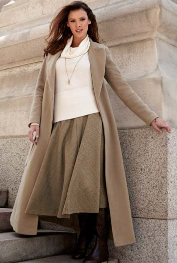 Tall Sally | Tall Coats For Tall Ladies - Camel Belted Maxi Coat ...