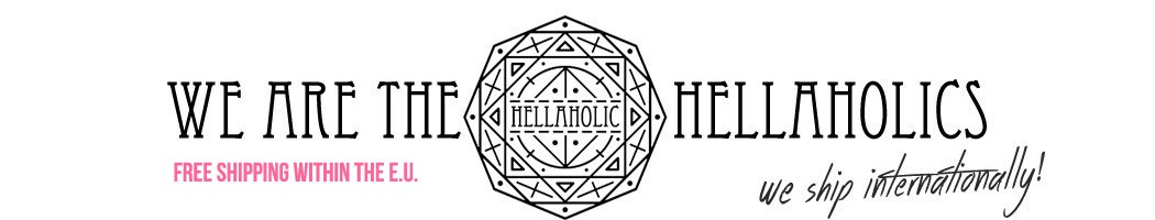 Hellaholic                  - Bold Skull Cross Necklace