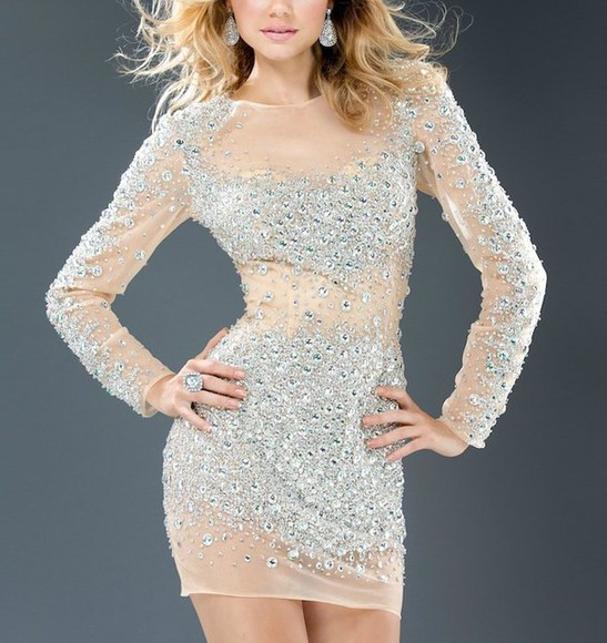 jovani dress jovani dress diamonds crystal quartz glitter lovely