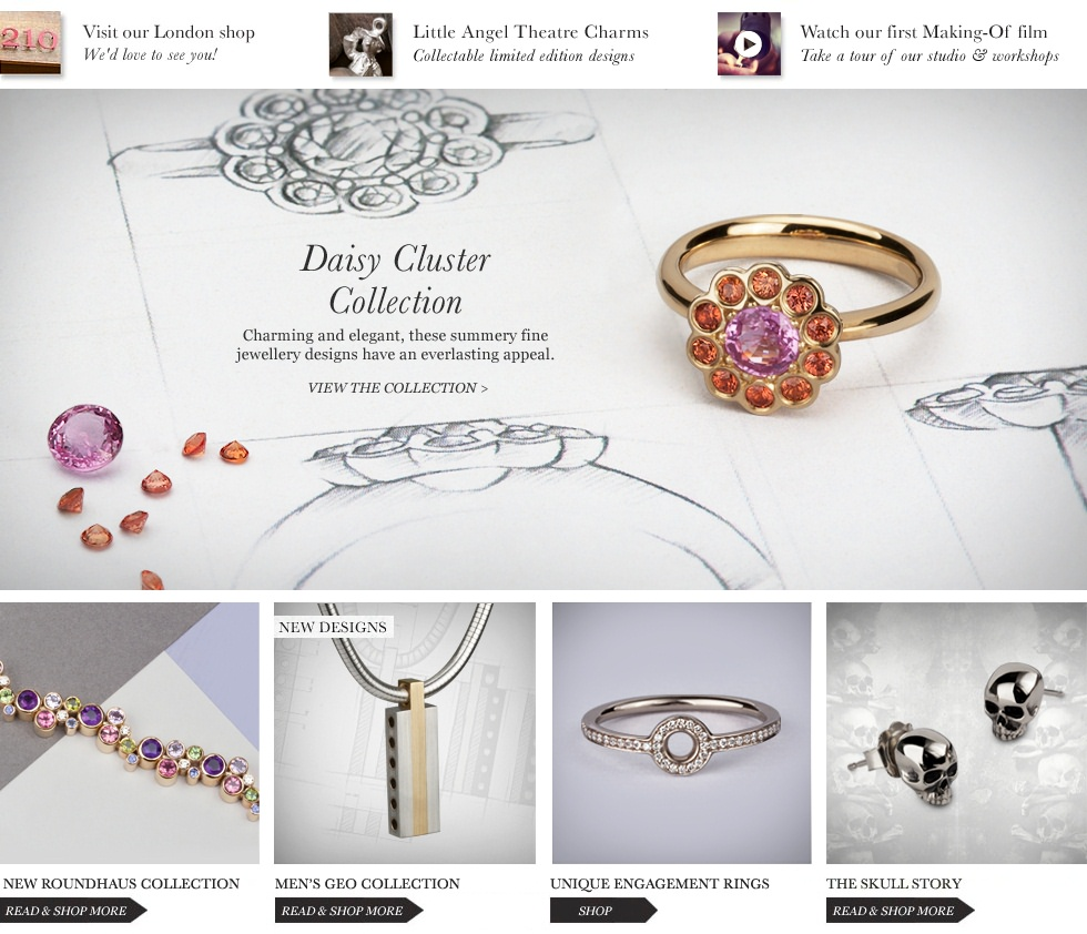 Designer Jewellery - Men's & Women's Designer Jewellery - Engagement Rings - Bespoke Jewellery - Stephen Einhorn London