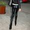 2014 korea women sexy wet look shiny metallic vinyl tight leggings pants 4color | ebay