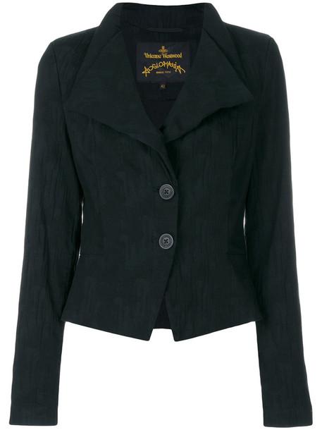 Vivienne Westwood Anglomania jacket women spandex cotton black
