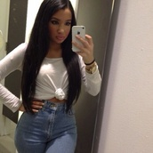 jeans,high waisted,india westbrooks,shirt
