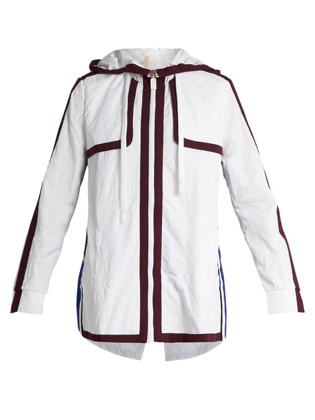 NO KA'OI jacket zip white