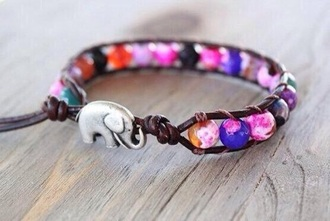jewels elephant bracelets elephant bracelet beeds indie