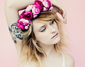 Flower crown on etsy, a global handmade and vintage marketplace.
