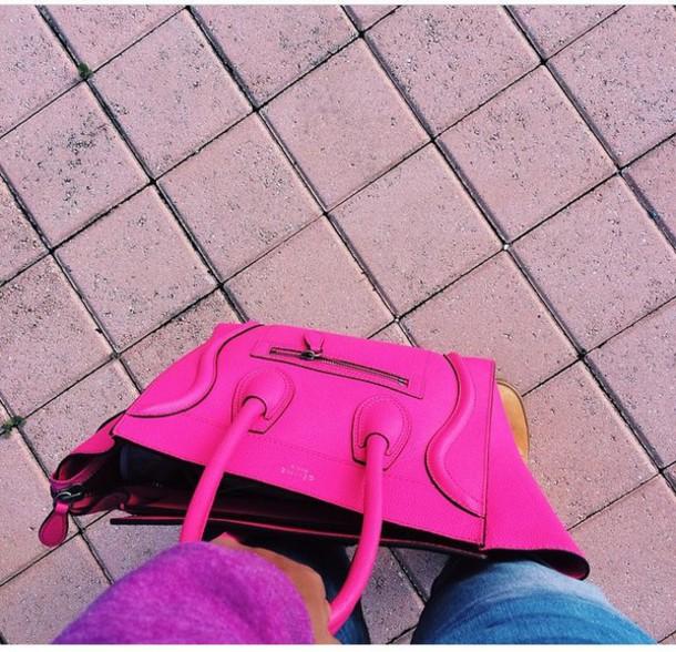 bag celine pink