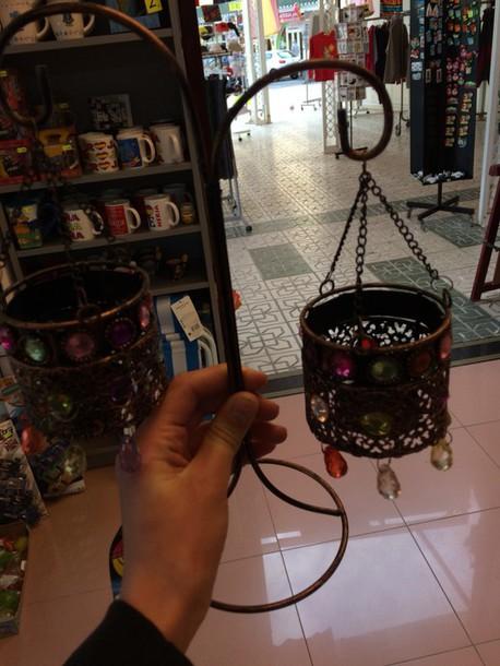 jewels candle boho candleholder bohemian hipser
