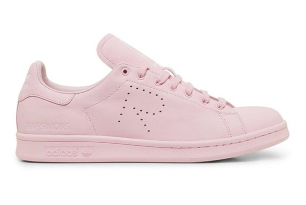 online store d8318 8c2db shoes adidas stan smith stan smith pink women s shoes trainers sneakers  pink raf simons raf simons