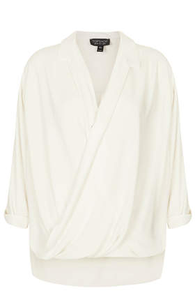 Formal Drape Front Blouse - Tops - Clothing - Topshop