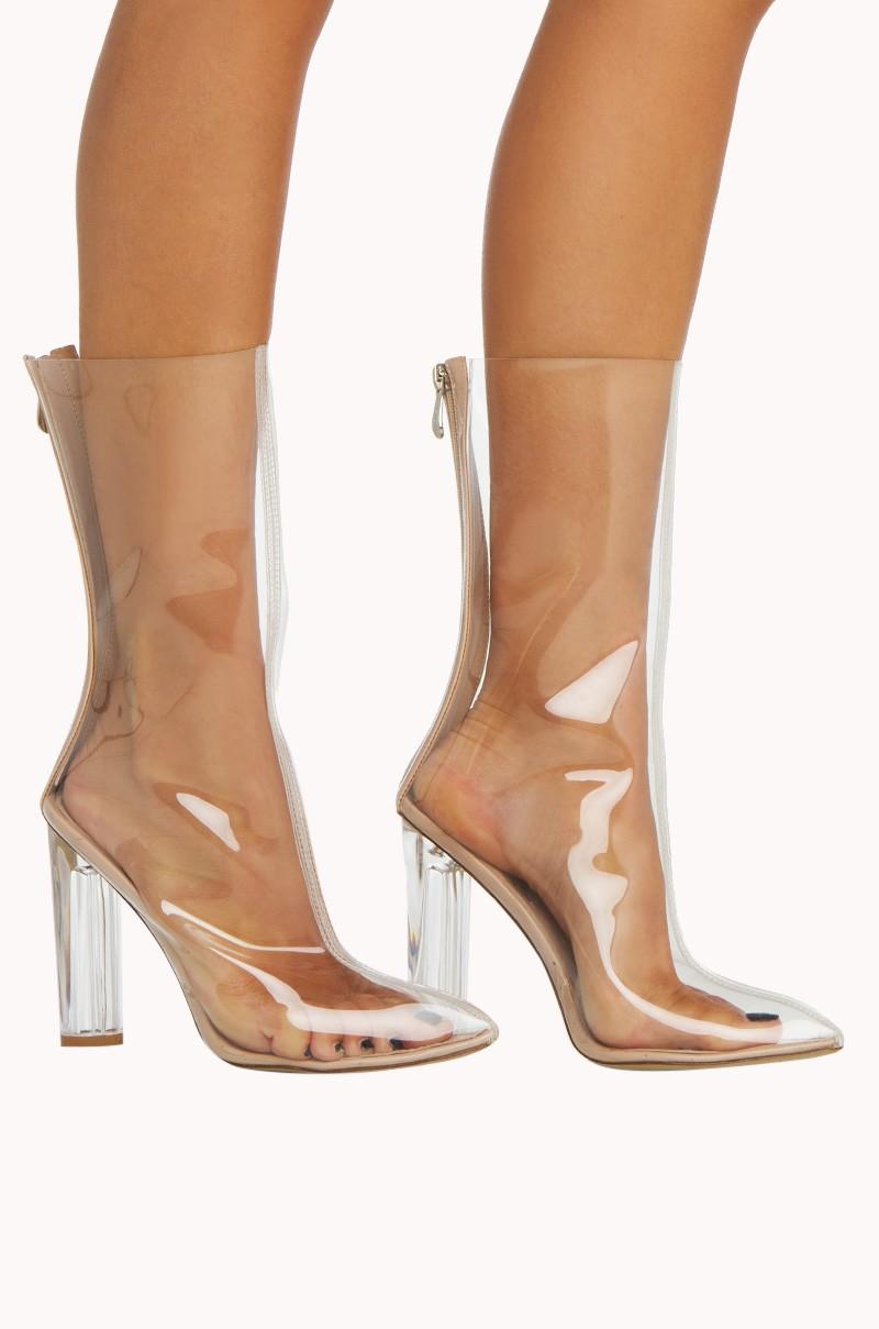 VINYL BOOTIE - Booties - Boots - Shoes