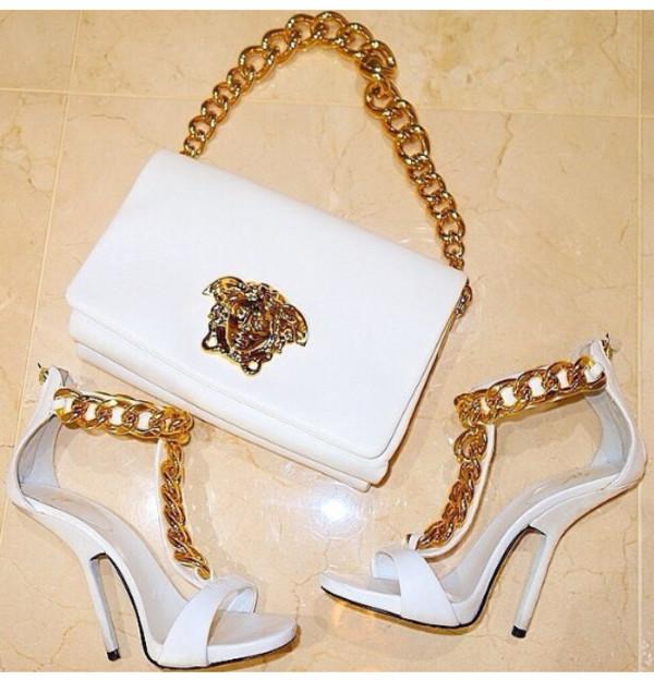 shoes bag versace