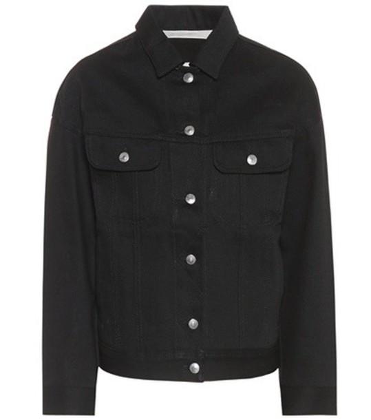 Acne Studios jacket denim jacket denim black