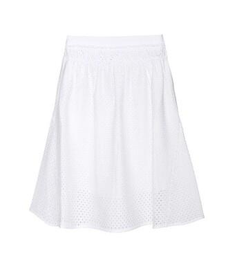 skirt mesh skirt mesh white