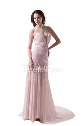 dress,tidetell dress,prom dress,long dress,nude pink,nude evening dress,chiffon evening dress,sweetheart prom dress,strapless evening dress,nude bridesmaid dress,pleated bridesmaid dress,bridesmaid