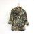 Vintage men's army shirt. military jacket. camouflage coat