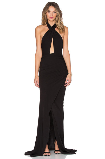JAY GODFREY gown black