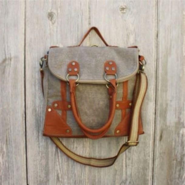bag messenger bag purse accessories leather rustic