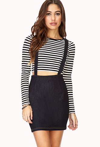 Modernist Denim Overall Dress | FOREVER21 - 2000066057