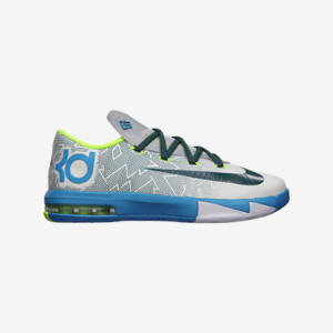 KD VI (3.5y-7y) Kids' Basketball Shoe