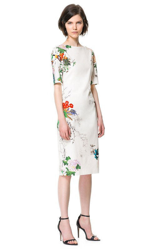 New new off white floral flower oriental print party cooctail slim new new off white floral flower oriental print party cooctail slim pencil dress mightylinksfo