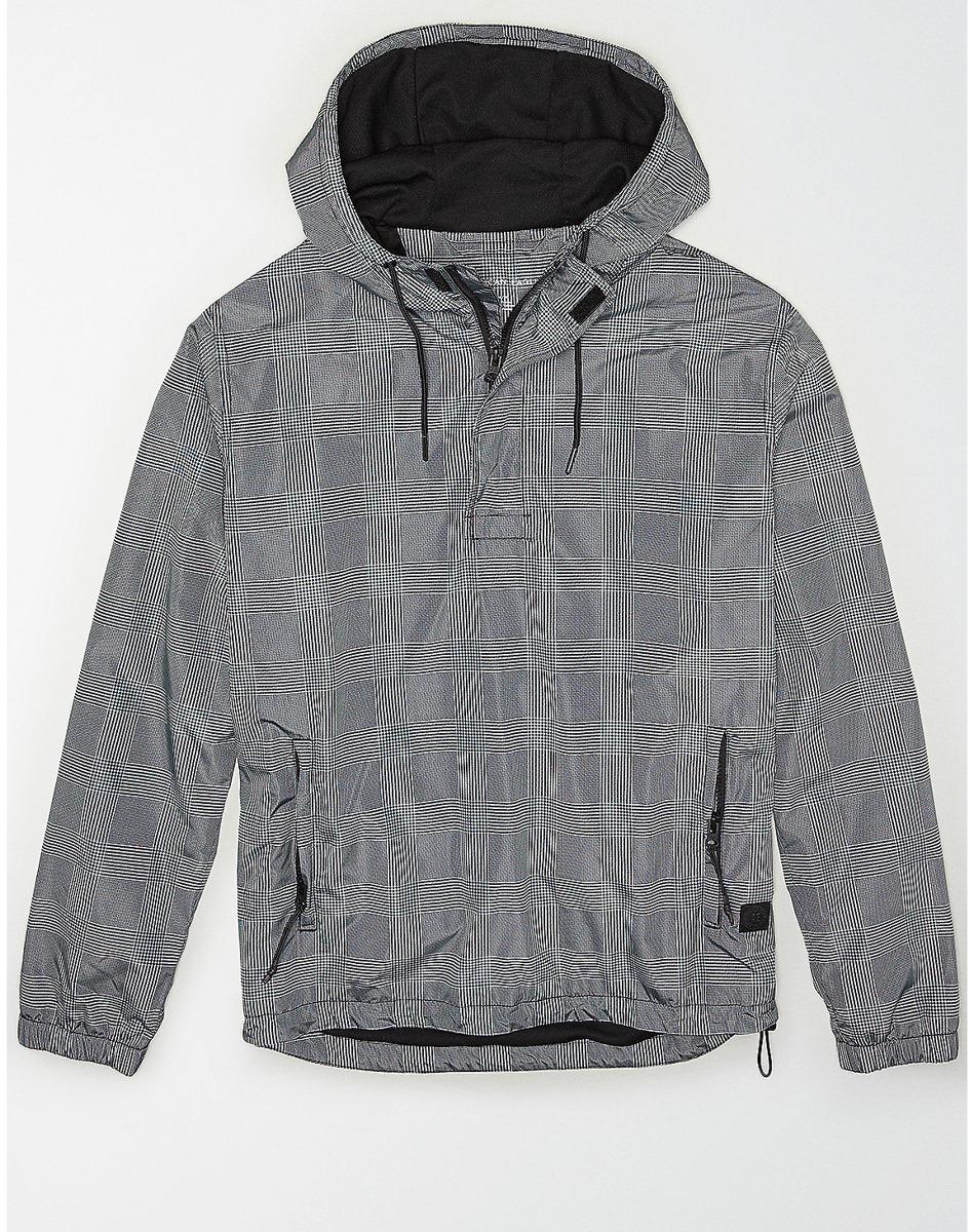 AEO Plaid Anorak Jacket