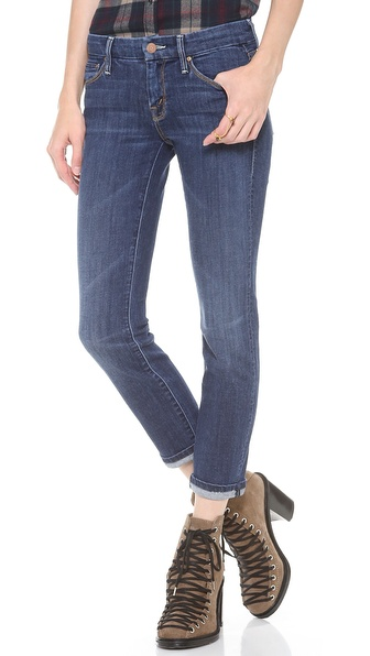 MOTHER The Cropped Looker Skinny Jeans | SHOPBOP