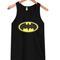 Batman logo tank top