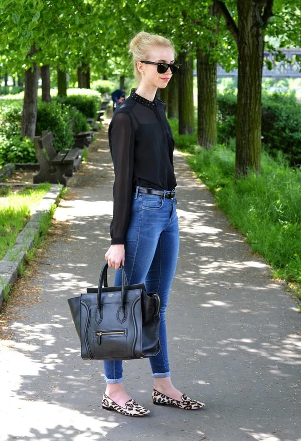 vogue haus blouse t-shirt jeans shoes bag sunglasses jewels