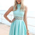 SABO SKIRT  Darling Dress - Mint - Mint - 46.0000