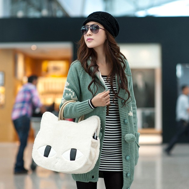 2013 Fashion  Women's Handbag One Shoulder  Messenger Bag Ladies Bag Cheap Bags CAT bag-inMessenger Bags from Luggage & Bags on Aliexpress.com